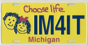 ChooseLife_licenseplate